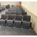 Muskegon Citation used theater auditorium church chairs seats large
