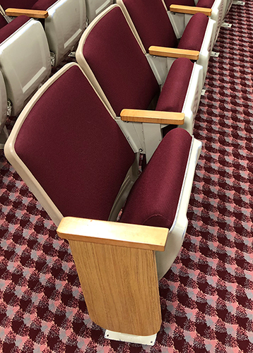 Used AUDITORIUM THEATER CHURCH SEATING