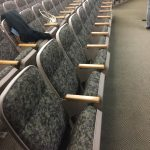 Used auditorium church chairs