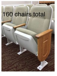 used theater seating used church chairs auditorium seats lot 3
