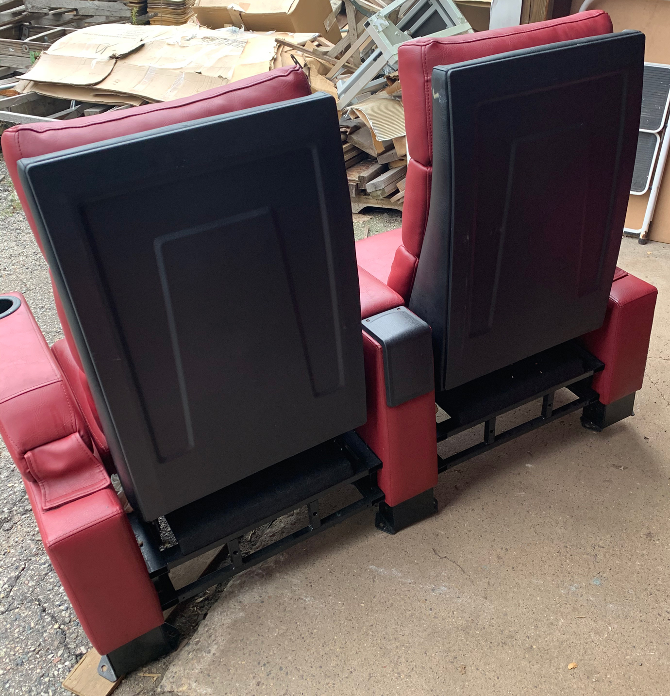 VIP Glider used theater seating