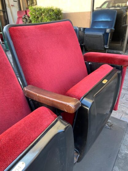 Used theater seating Red Burton